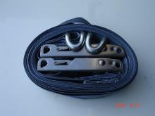 Curtainsider curtain straps, tautliner straps
